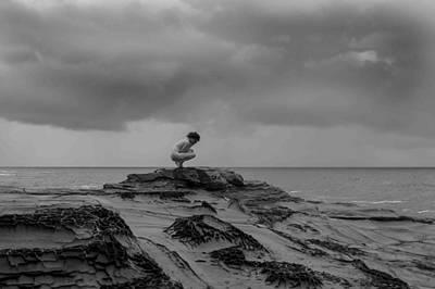Naturist Art Photograph - Waterside Nude V by John Bonnett