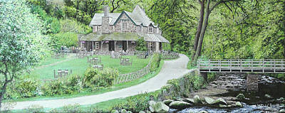 Watersmeet House, Near Lynmouth Original by Mark Woollacott