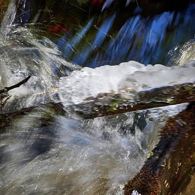 Photograph - Waterspeed. Liesijoki by Jouko Lehto