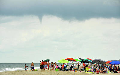 Waterspout Art Print by JAMART Photography