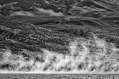 Photograph - Waterspouts On Viedma Lake - Patagonia by Stuart Litoff