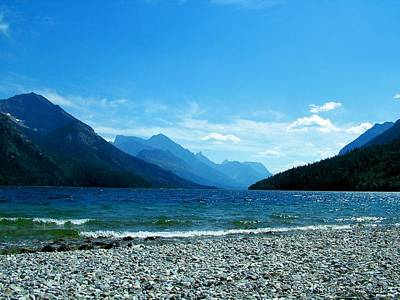 Photograph - Waterton Beach by Tracey Vivar