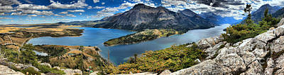Photograph - Waterton Bears Hump View by Adam Jewell