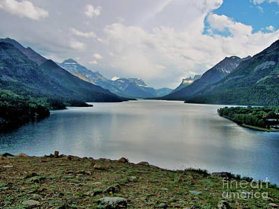 Photograph - Waterton Lakes by Victor K
