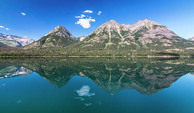 Photograph - Waterton Reflection #1 by Patti Deters