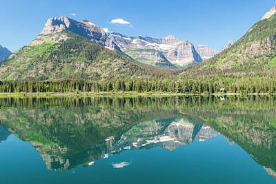 Photograph - Waterton Reflection #2 by Patti Deters