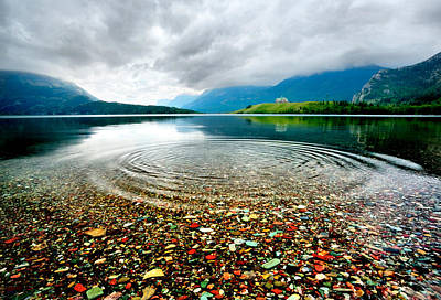 Photograph - Waterton Ripples by David Andersen