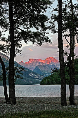 Photograph - Waterton Sunset - 365-329 by Inge Riis McDonald