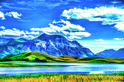 Photograph - Waterton Valley by Rick Bragan