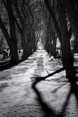 Digital Art - Waterville Cemetery by Patrick Groleau
