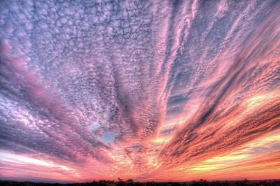 Digital Art - Waterville Sunset by Patrick Groleau