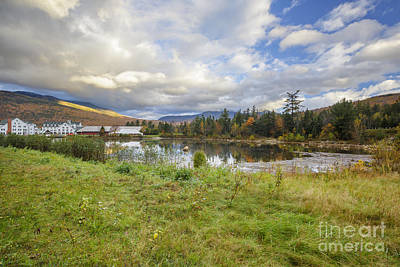 Waterville Valley New Hampshire Art Print by Erin Paul Donovan
