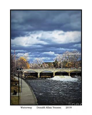 Photograph - Waterway by Donald Yenson