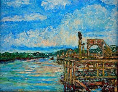 Painting - Waterway Near Pawleys Island by Kendall Kessler