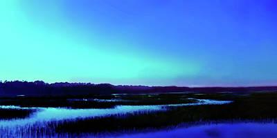 Digital Art - Waterway No. 2 by Gina Harrison