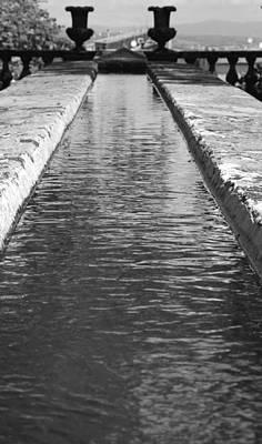 Photograph - Waterway by Valentino Visentini