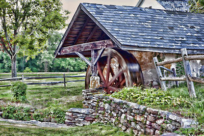 Photograph - Waterwheel by Nicki McManus