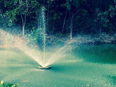 Photograph - Waterworks- Edit by Alohi Fujimoto