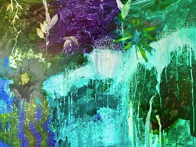 Painting - Waterworld by Carole Johnson
