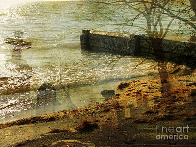 Photograph - Watery Graves by Rose  Hill