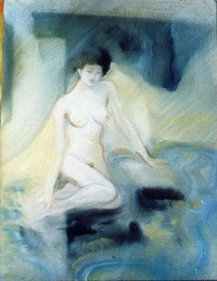 Painting - Watery Nymph by Scott Cumming