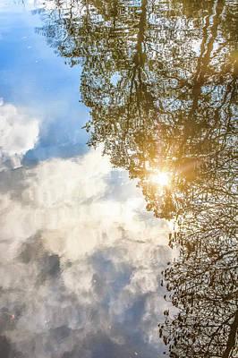 Photograph - Watery Reflections by Joni Eskridge