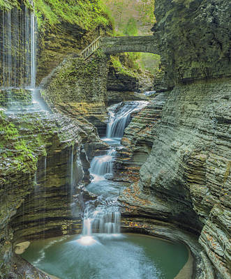 Art Print featuring the photograph Watkins Glen 08 Panorama by Jim Dollar
