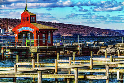 Photograph - Watkins Glen Harbor by William Norton