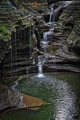 Photograph - Watkins Glen Rainbow Falls by Stuart Litoff