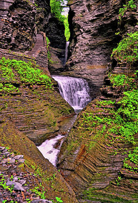 Photograph - Watkins Glen State Park 008 by George Bostian