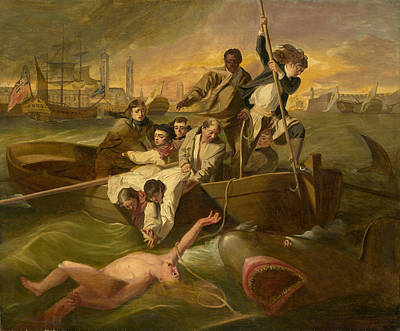 Painting - Watson And The Shark by After John Singleton Copley