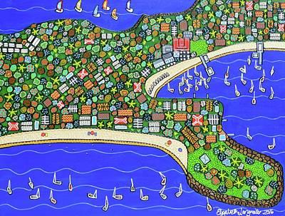 Painting - Watson Bay by Elizabeth Langreiter