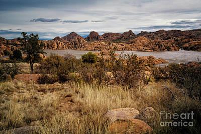 Watson Lake Arizona 3 Art Print by Timothy Hacker