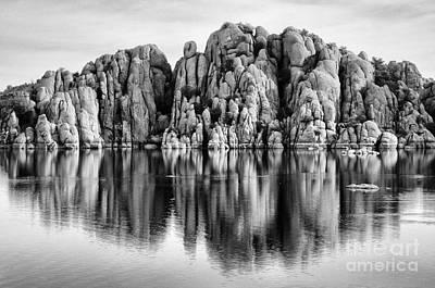 Watson Lake Photograph - Watson Lake Arizona 9 by Bob Christopher