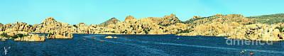 Photograph - Watson Lake Arizona by Afrodita Ellerman