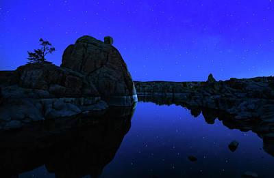 Watson Lake Photograph - Watson Lake Moonshine by Janet Ballard