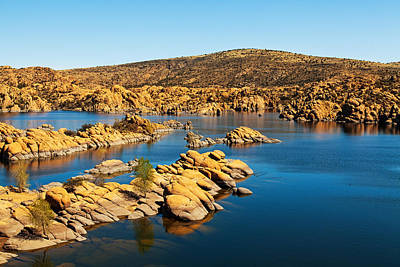 Watson Lake - Prescott Arizona Usa Art Print by Susan Schmitz
