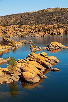 Watson Lake - Prescott Az Usa Art Print by Susan Schmitz