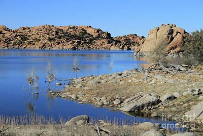 Photograph - Watson Lake Prescott by Teresa Zieba