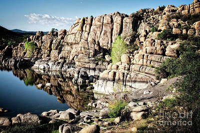 Photograph - Watson Lake Reflection by Scott Kemper