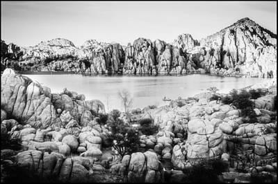 Watson Lake Photograph - Watson Lake Solace by Nancy Forehand
