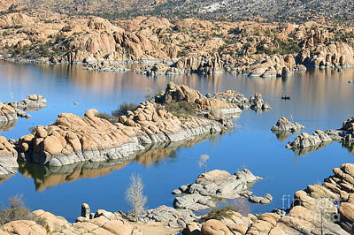 Prescott Photograph - Watson Lake Wonder by Teresa Zieba