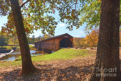 Photograph - Watson Mill Bridge II by Sharon Seaward