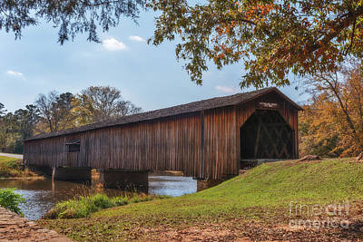 Photograph - Watson Mill Bridge by Sharon Seaward