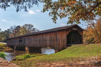Photograph - Watson Mill Bridge by Sharon Seaward