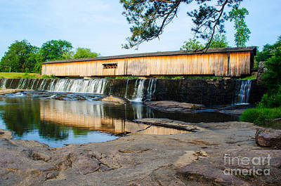 Photograph - Watson Mill Bridge State Park by Donna Brown
