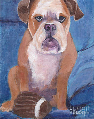 Painting - Watson by Patricia Cleasby