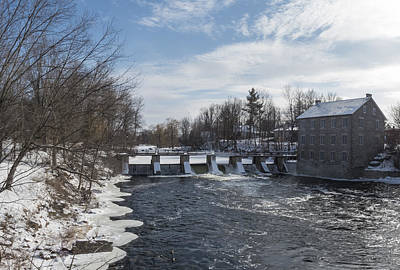Photograph - Watson's Mill, Manotick, Ontario by Josef Pittner