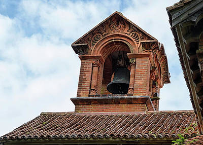 Photograph - Watts Chapel Bell Tower by Shirley Mitchell