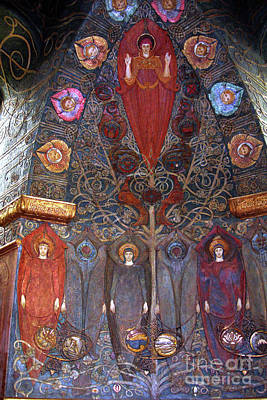 Photograph - Watts Chapel Detail by Rod Jones